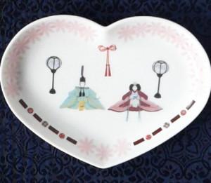 ひなまつり飾り皿
