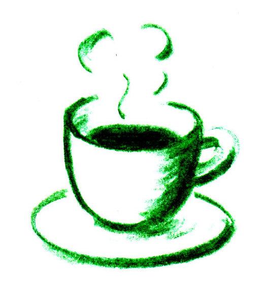 どんぐりイラストコーヒーカップ